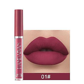 Matt lipgloss, vanntett, leppestift, non-stick kopp, langvarig, skjønnhet