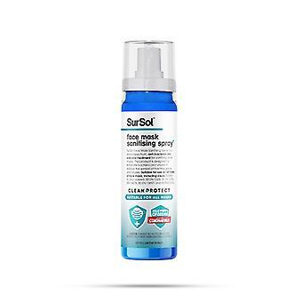 SurSol Face Mask Sanitising Spray, Suitable for all Masks, 75ml, 1pk