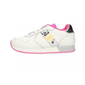 Shoes Blauer Sneaker Lilli Leather White/ Fuxia/ Silver Zs21bu03 S1lilli02