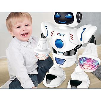 Avaruus häikäisevä musiikkirobotti