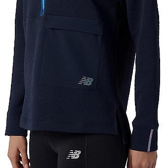 New Balance Womens 2021 Q Speed Fuel Fast Dry Comfort Half Zip Sweater