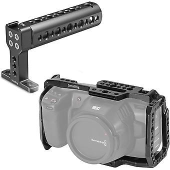 DZK Cage with Top Handle for Blackmagic Design Pocket Cinema Camera 4K & 6K - KCVB2747