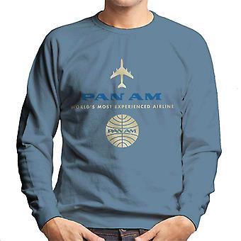 Pan Am Worlds mest erfarne flyselskab Men's Sweatshirt