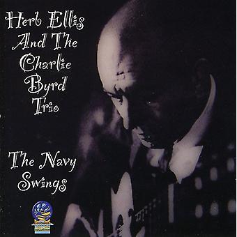 Herb Ellis & the Charlie Byrd Trio - Navy Swings [CD] USA import