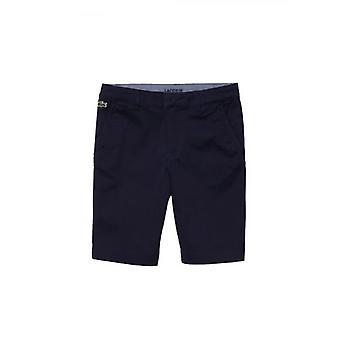 Pantalones cortos de bermudas de la Armada de Lacoste Kids