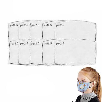 Pm2.5 Filter Activated Carbon Adult Kid Mask Paper