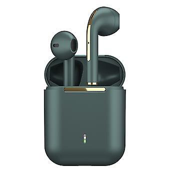 J18 Tws Led Bluetooth 5.0 Touch trådlösa öronsnäckor