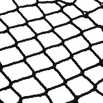 Nestschommel rond - 120 cm - Zwart - Gevlochten structuur