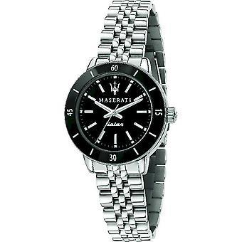 Maserati Мужские часы Successo Солнечный 32mm Черный R8853145506