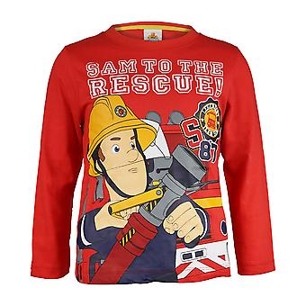 Fireman Sam Girls To The Rescue Long-Sleeved T-Shirt