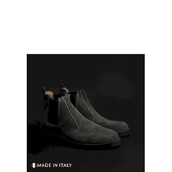 SB 3012 - Shoes - Ankle Boots - 400D-CAMOSCIO-GRIGIO - Men - gray - EU 41