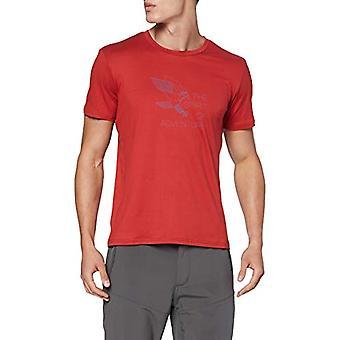 CMP Elastisches T-Shirt mit Aufdruck, Men's, Brik, 48