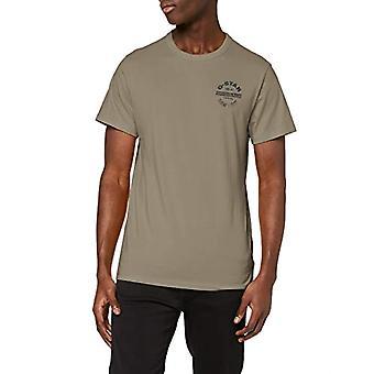 G-STAR RAW Originals Logo GR T-Shirt, Grön (Shamrock 336-2199), XXS Herr