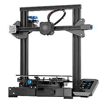 Stampante CREALITY 3D Ender-3 V2 con driver stepper TMC2208 Nuovo LCD a colori UI&4.3 Inch con filamento da 20 m