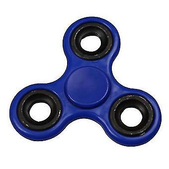 2pcs blå fingertupp spinning topp trefoil finjustering finger leketøy dekompresjon kreativ leketøy az3523