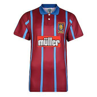 Score Draw Aston Villa 1994 Retro Football Shirt