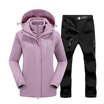 Naisten takkihousut, laadukkaat tuulenpitävät Skiing_jackets