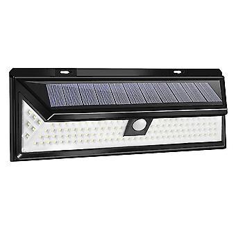 Multicolor 1pcs solar light motion sensor 118 led wall lamp emergency light for garden dt3327