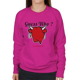 The Laughing Cow Guess Who Women's Sweatshirt