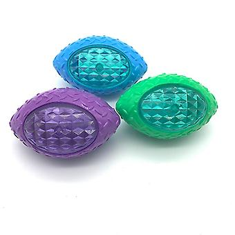 Pet dog toy ball bite resistance throwing training rugby
