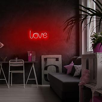 Love - Rote Rote Wandleuchte