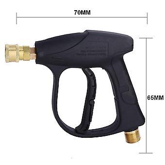 Quick Release Car Wash Pressure Water Pump, Snow Foam Generator Gun Soap, Lance