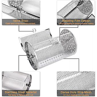 Oven Cages,stainless Steel Rotisserie Grill Oven Basket,360 Degree Rotatable Heating