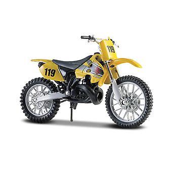 Suzuki RM250 Diecast Modell Motorsykkel