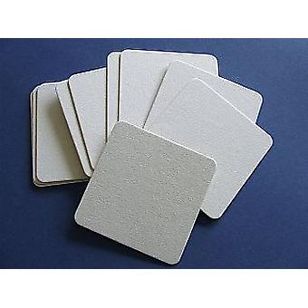 10 Square Compressed Board Coasters voor doe-het-zelfambachten | Coaster Blanks te versieren