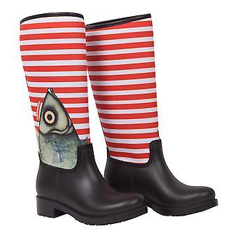 BiggDesign Bottes de pluie à la pistache pour femmes, imperméables, bottes de pluie, design d'artiste, taille 38