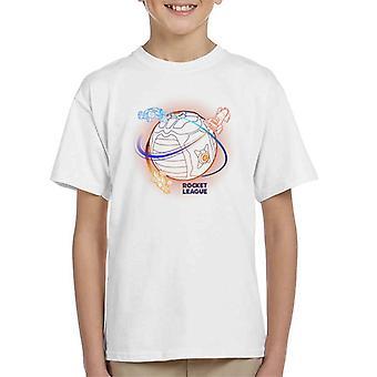 Rocket League boost runt boll kid t-shirt