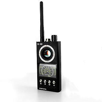 シグナル検出器、ビジネスミーティングラボ、工場用の軽量アンチ盗聴信号検出ツール(黒)