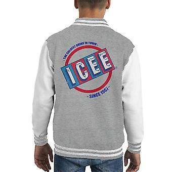ICEE Coldest Drink In Town Since 1961 Kid's Varsity Jacket