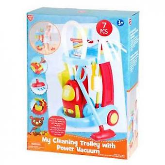My Cleaning Trolley with Power Vacuum Toy