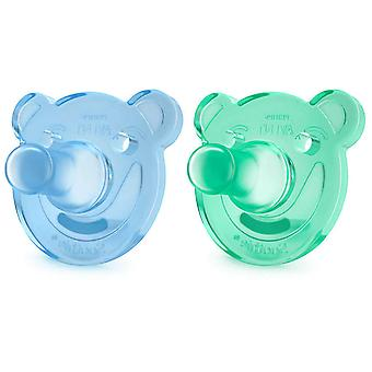 Avent Pacifiers Soothie Shapes +3m 2 Units