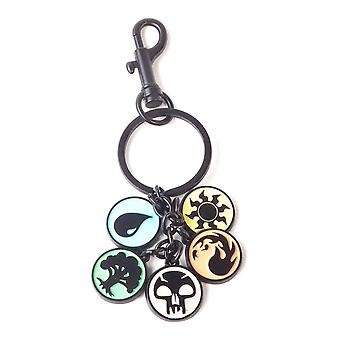 Magic: The Gathering Charms Metal Keychain