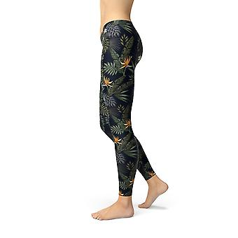 Hosiery womens bird of paradise leggings