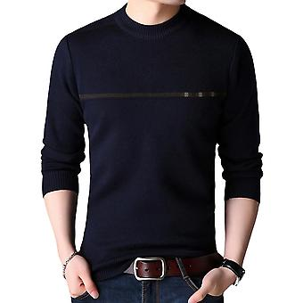 Mile Men's Jumper Winter Sweater Crew Neck Pullover Jumpers Warm Knit Sweatshirt Casual Autumn Sweaters