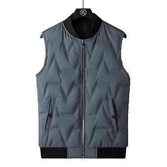 Men Vest Lightweight Water-resistant Packable Puffer Vest Coat