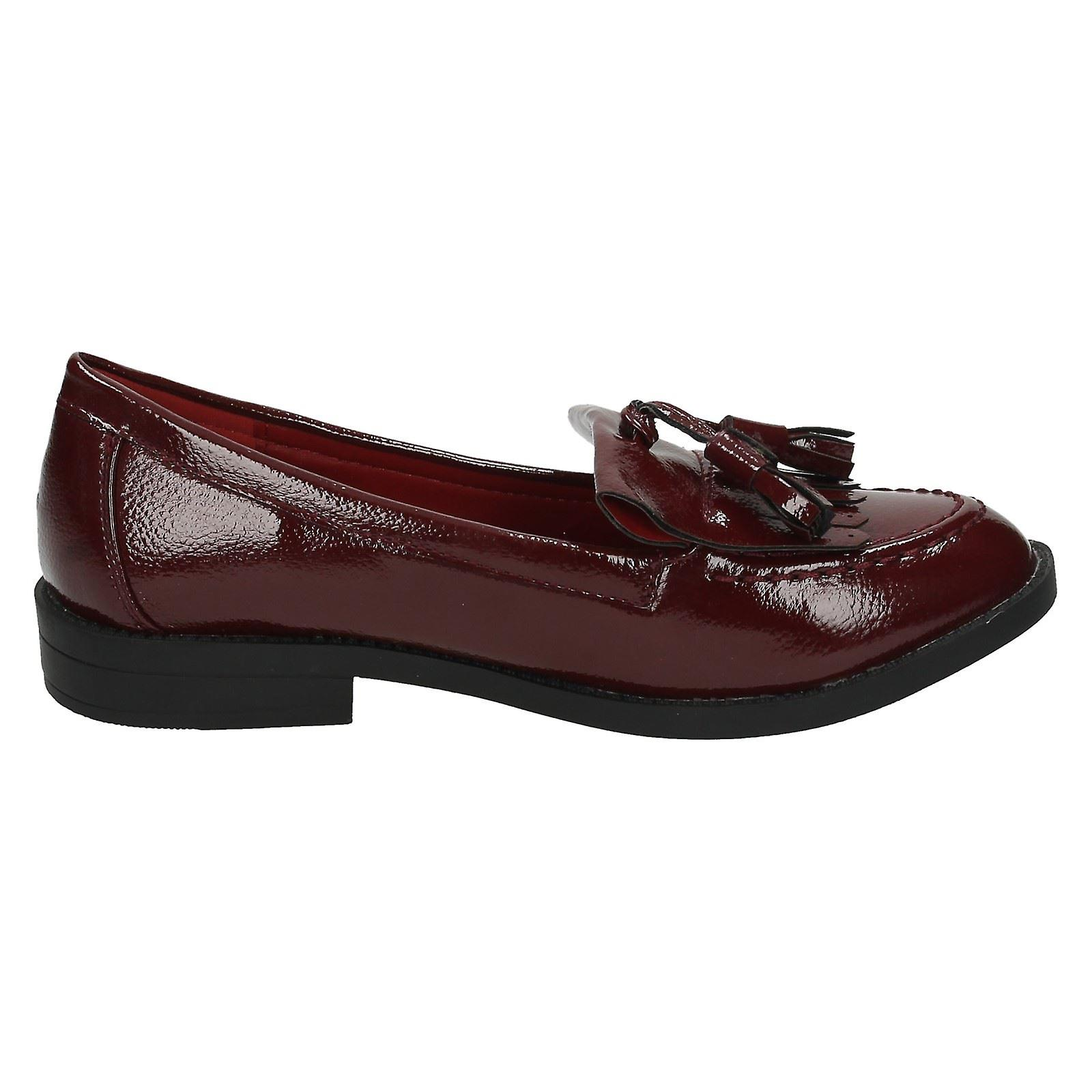Ladies Spot On Loafer Style Shoes