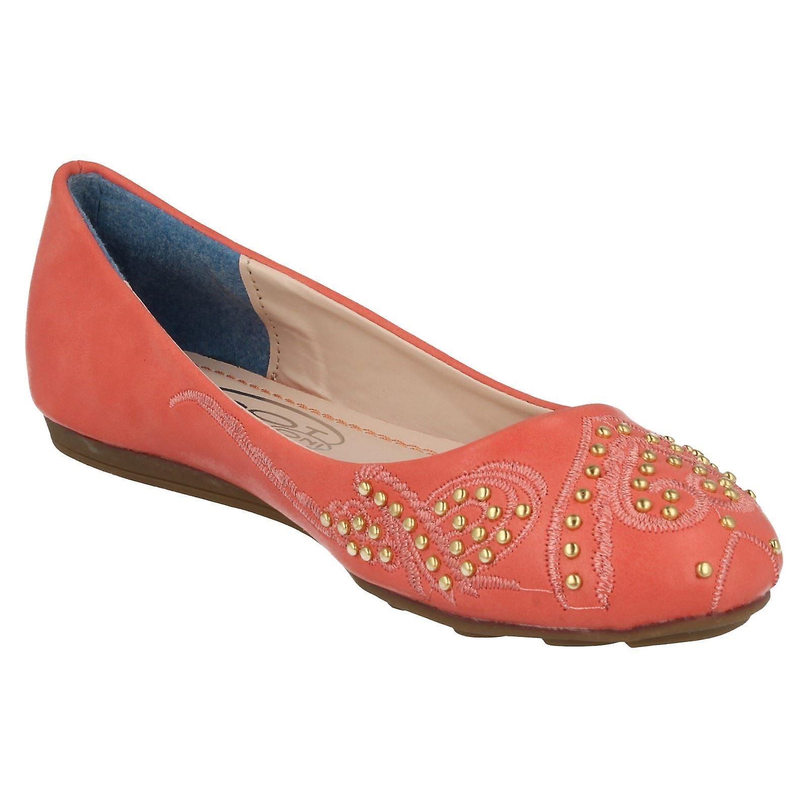 Meisjes plek op vlakke Ballet stijl schoenen H2273 - Gratis verzending BR8XIX