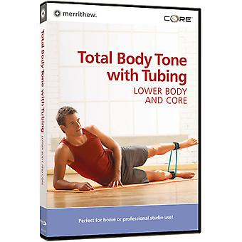 Total Body Toning with Tubing: Lower Body & Core [DVD] USA import