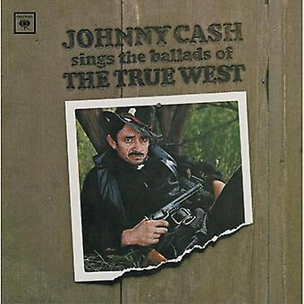 Johnny Cash - sjunger ballader av True West [CD] USA import