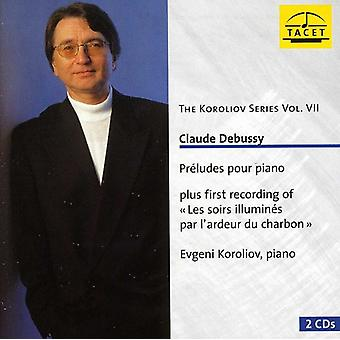 C. Debussy - Claude Debussy: Preludes Pour Piano [CD] USA import