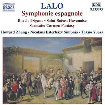 Lalo/Ravel/Saint-Jean-Saens/Sarasate - Lalo: Symphonie Espagnole [DVD] USA import