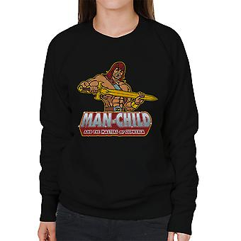 Man Child Son Of Zorn Women's Sweatshirt