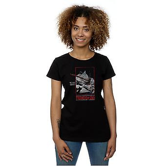 Friday 13th Women's Distressed Axe Poster T-Shirt