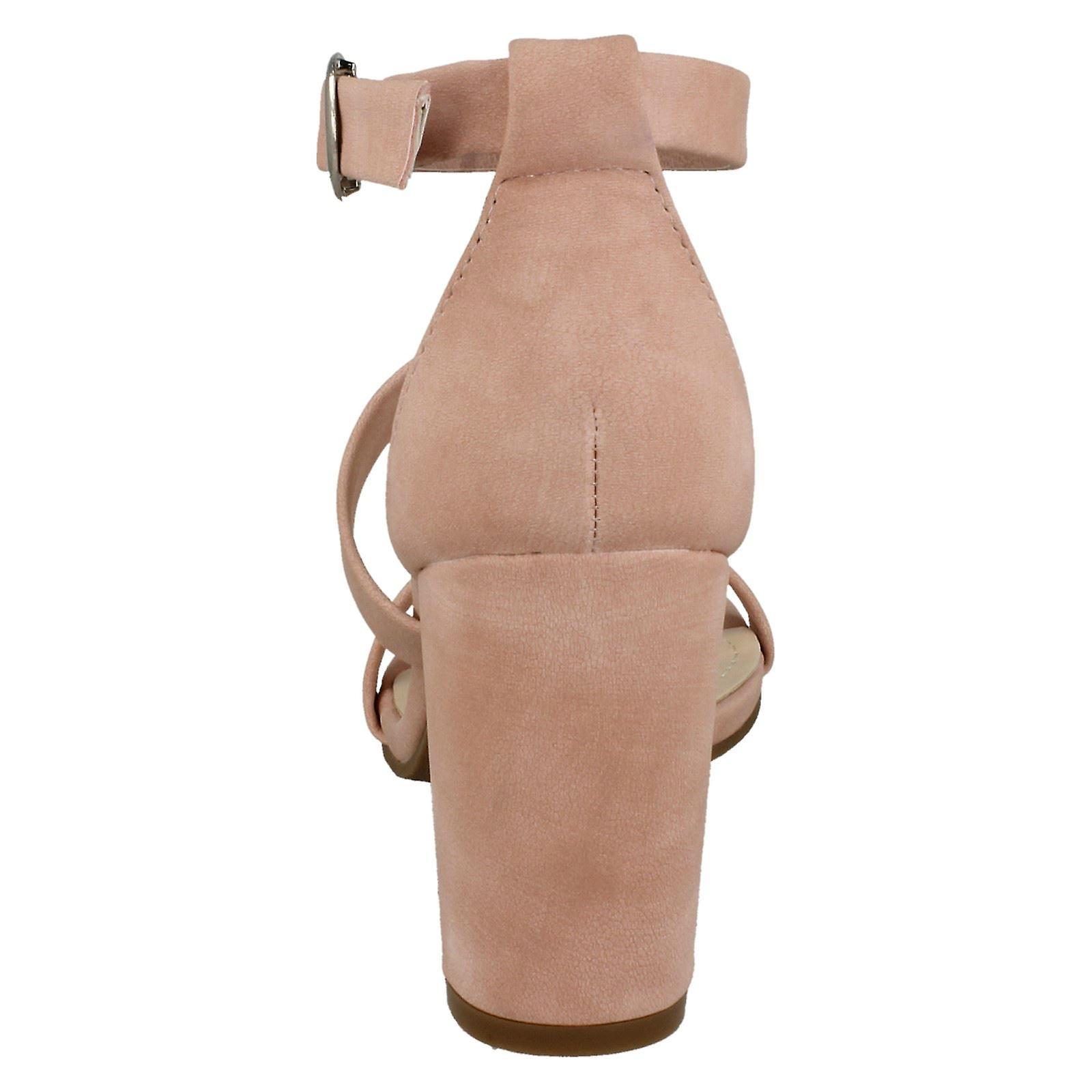 Spot de dames sur Double sangle haut talon sandales F10769 - Remise particulière