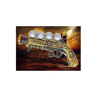 Wapens en hulpmiddelen piraat pistool grote met kogels