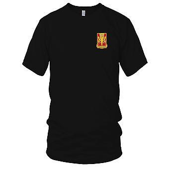 US Army - 86th fältet artilleriregemente broderad Patch - Mens T Shirt